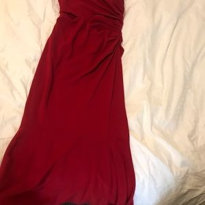 Badgley Mischka Dresses - badgley Mischka red runway dress! Never worn by me